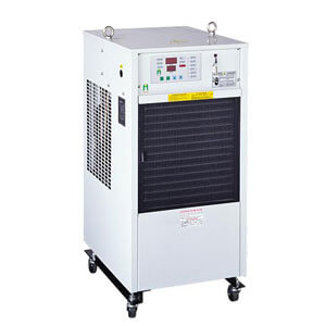 Lubrication oil chiller